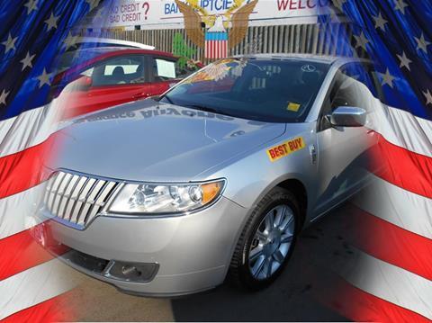 2012 Lincoln MKZ for sale in Stockton CA