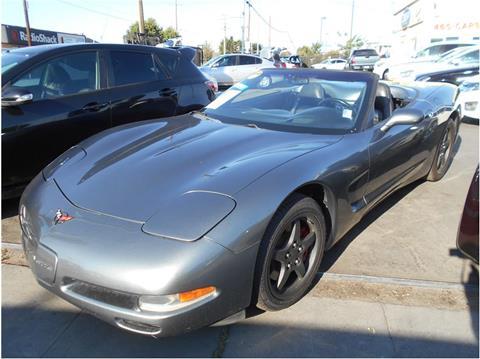 2004 Chevrolet Corvette for sale in Stockton CA