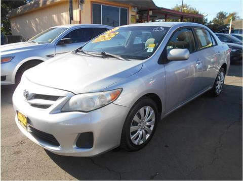 2012 Toyota Corolla for sale in Stockton CA