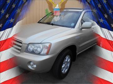 2003 Toyota Highlander for sale in Stockton, CA