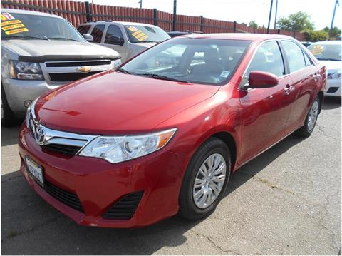 2012 Toyota Camry for sale in Stockton CA