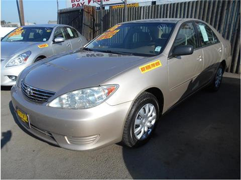 2006 Toyota Camry for sale in Stockton CA