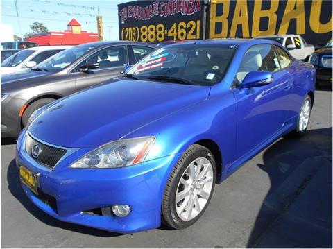 2010 Lexus IS 250C for sale in Stockton CA