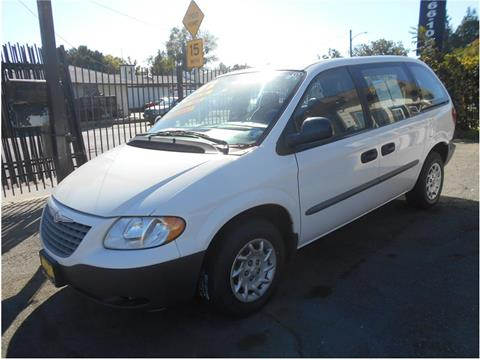 2002 Chrysler Voyager for sale in Stockton CA