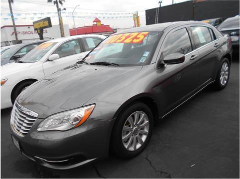 2012 Chrysler 200 for sale in Stockton CA