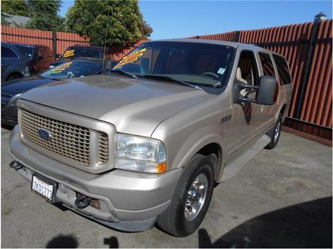 2004 Ford Excursion for sale in Stockton CA