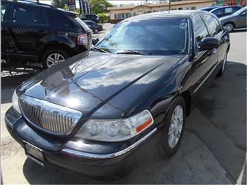 2007 Lincoln Town Car for sale in Stockton, CA
