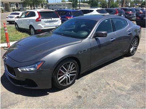 2014 Maserati Ghibli for sale in Stockton, CA