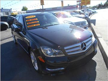 2013 Mercedes-Benz C-Class for sale in Stockton, CA