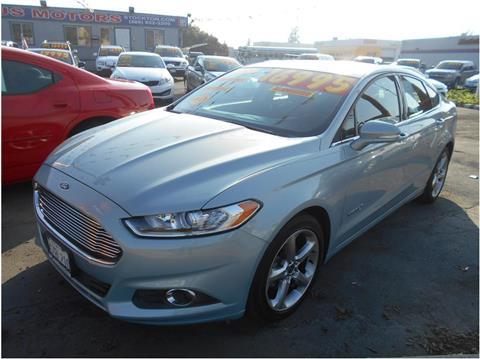 2013 Ford Fusion Hybrid for sale in Stockton, CA