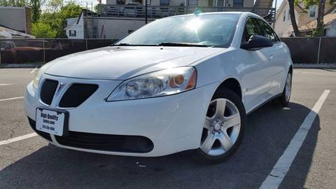 2009 Pontiac G6 for sale at High Quality Auto Sales LLC in Bloomingdale NJ