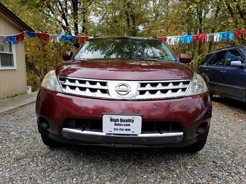 2007 Nissan Murano for sale at High Quality Auto Sales LLC in Bloomingdale NJ