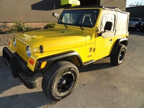 2002 Jeep Wrangler for sale in Franklin, OH