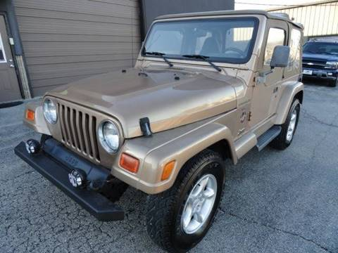 2000 Jeep Wrangler for sale in Franklin, OH