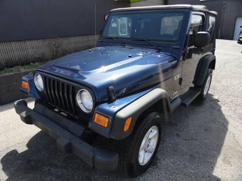 2004 Jeep Wrangler for sale in Franklin, OH