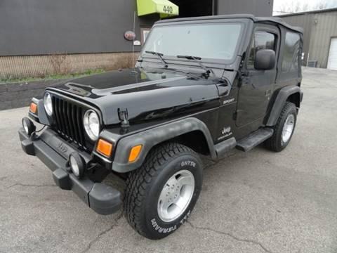 2003 Jeep Wrangler for sale in Franklin, OH