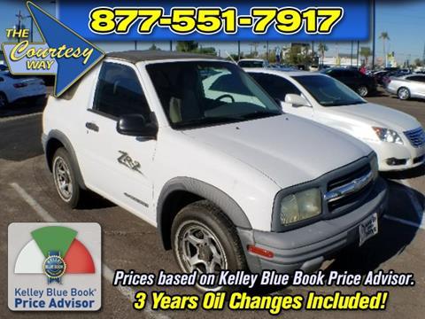2001 Chevrolet Tracker for sale in Phoenix, AZ