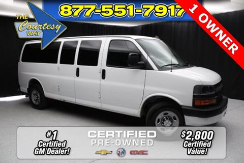 2017 Chevrolet Express Passenger For Sale In Phoenix AZ