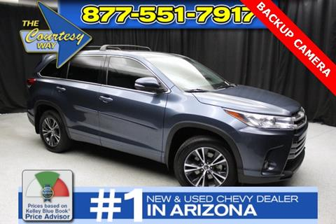 2018 Toyota Highlander for sale in Phoenix, AZ