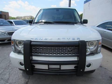 2004 Land Rover Range Rover for sale in San Antonio, TX