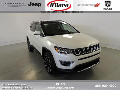2017 Jeep Compass for sale in Clinton, MI