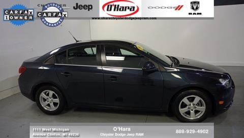 2014 Chevrolet Cruze for sale in Clinton, MI