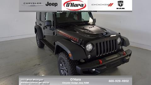 2017 Jeep Wrangler Unlimited for sale in Clinton, MI