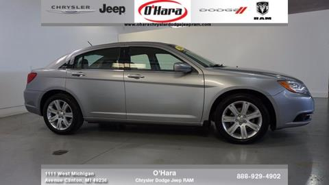 2014 Chrysler 200 for sale in Clinton, MI