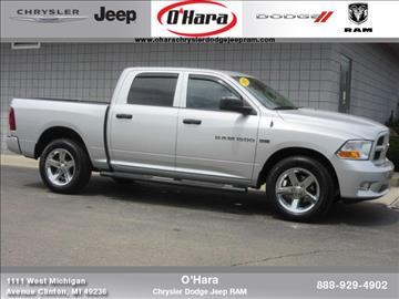 2012 RAM Ram Pickup 1500 for sale in Clinton, MI