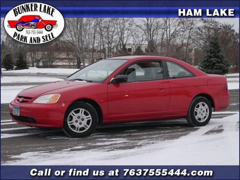 2002 Honda Civic for sale in Ham Lake, MN