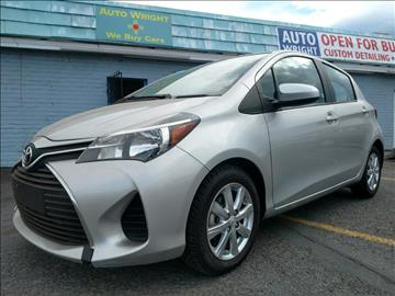 2015 Toyota Yaris for sale at Auto Wright in Santa Fe NM