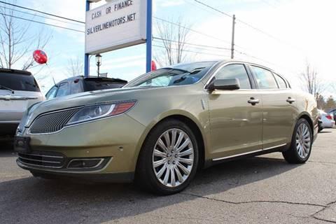 2013 Lincoln MKS for sale at Silverline Motors in Grand Rapids MI
