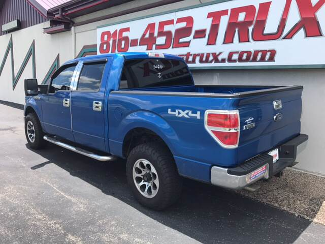 2009 Ford F-150 4x4 XLT 4dr SuperCrew Styleside 5.5 ft. SB - Kansas City MO