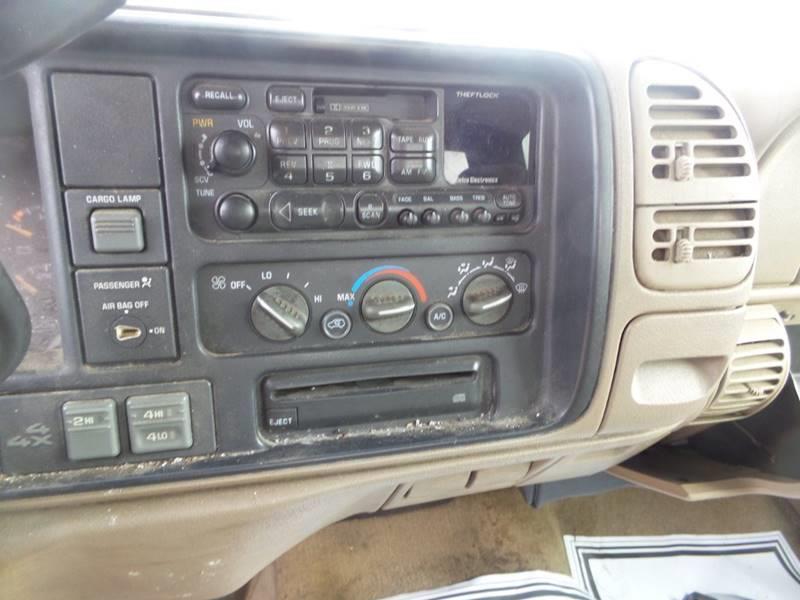 1997 Chevrolet C/K 1500 Series 2dr K1500 Silverado 4WD Extended Cab LB - Butte MT