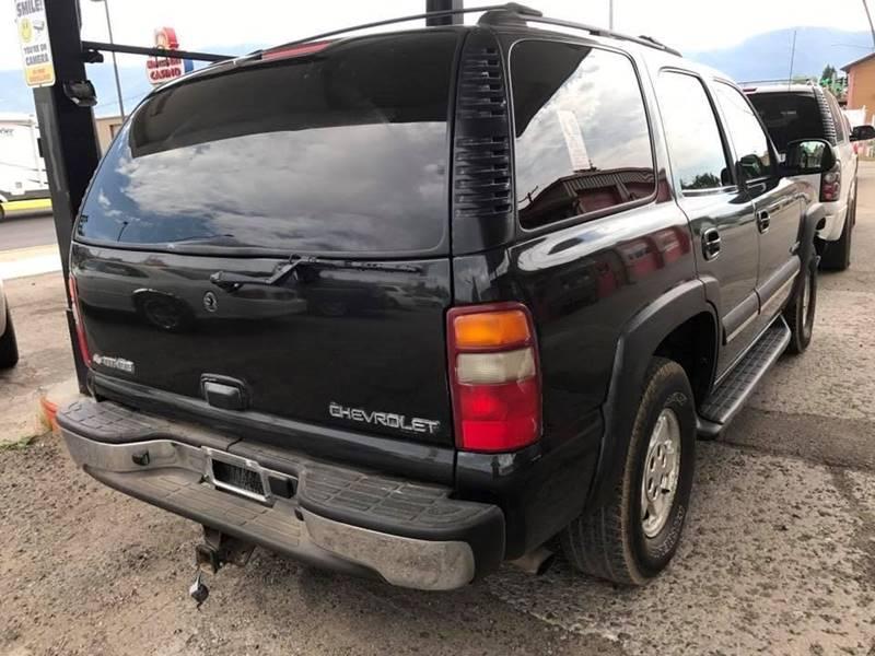 2003 Chevrolet Tahoe 4dr 4WD SUV - Butte MT