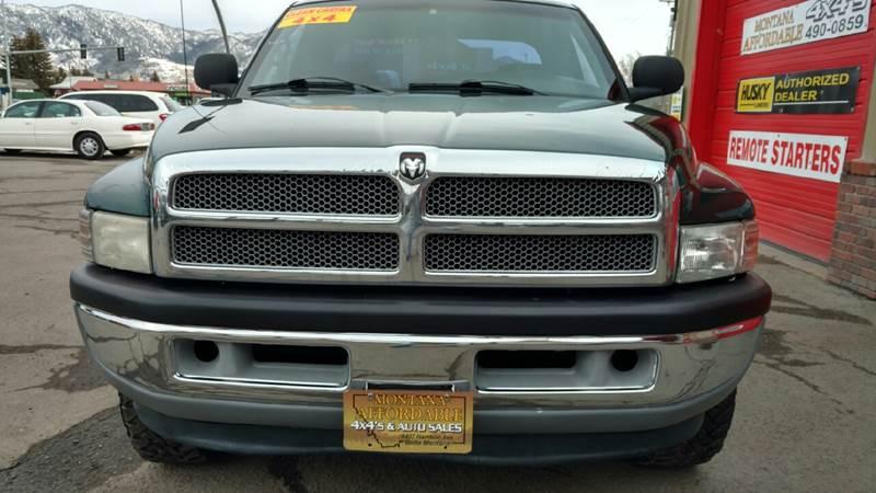 2001 Dodge Ram Pickup 1500 4dr Quad Cab SLT 4WD SB - Butte MT