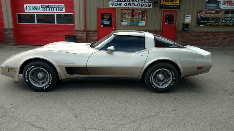1982 Chevrolet Corvette Collector Edition 2dr Hatchback - Butte MT