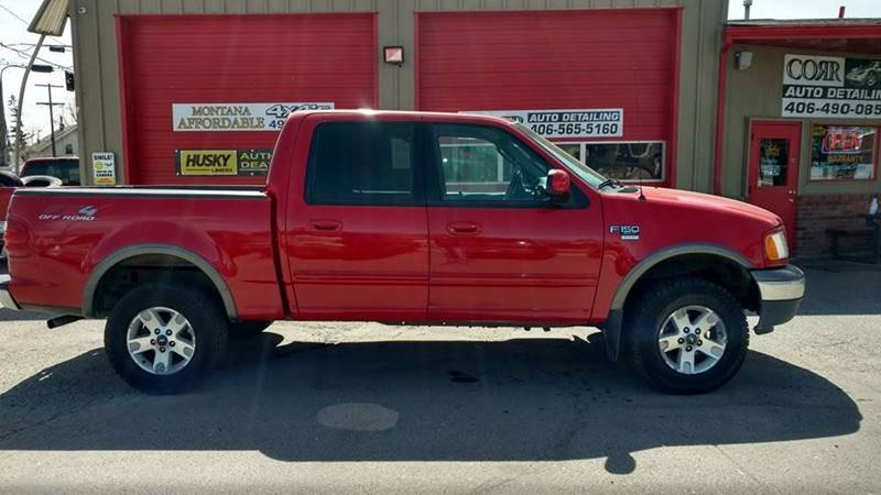 2003 Ford F-150 4dr SuperCrew XLT 4WD Styleside SB - Butte MT