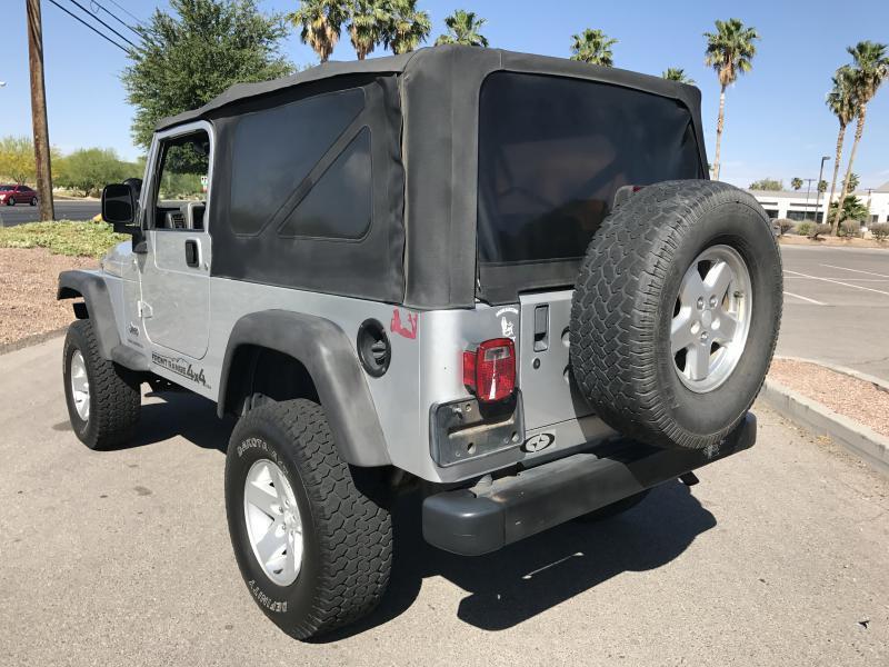 2005 Jeep Wrangler Unlimited 4WD 2dr SUV - Las Vegas NV