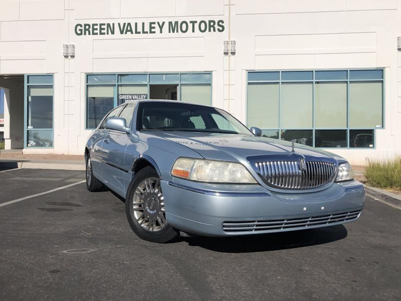 2006 Lincoln Town Car Signature Limited In Las Vegas Nv Green