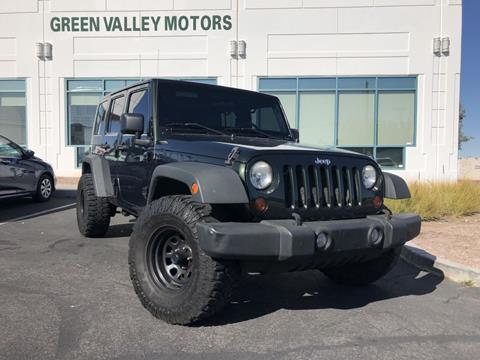 2010 Jeep Wrangler Unlimited for sale in Las Vegas, NV