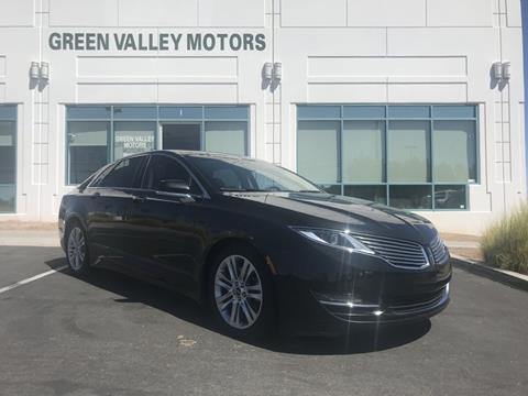 2013 Lincoln Mkz For Sale >> 2013 Lincoln Mkz For Sale In Las Vegas Nv