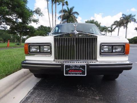 1985 Rolls-Royce Silver Spur for sale in Doral, FL