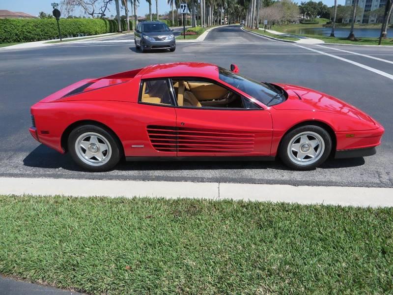 1986 Ferrari Testarossa  - Doral FL