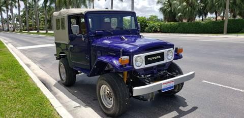 1982 Toyota Land Cruiser for sale in Doral, FL