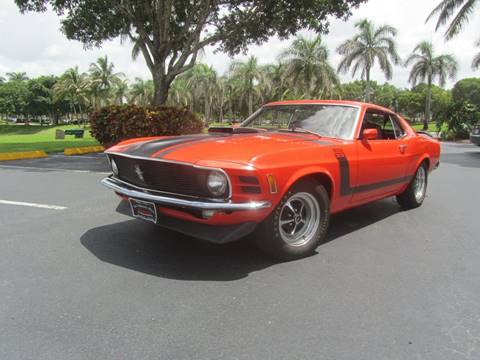 1970 Ford Mustang Boss 302 for sale in Doral, FL