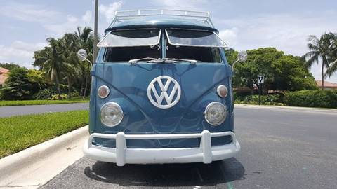 1972 Volkswagen Bus for sale at ADVANCE AUTOMALL in Doral FL