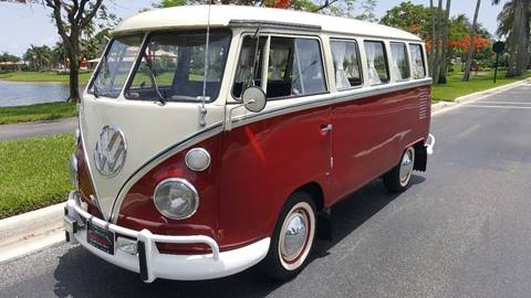 1969 Volkswagen Bus for sale at ADVANCE AUTOMALL in Doral FL