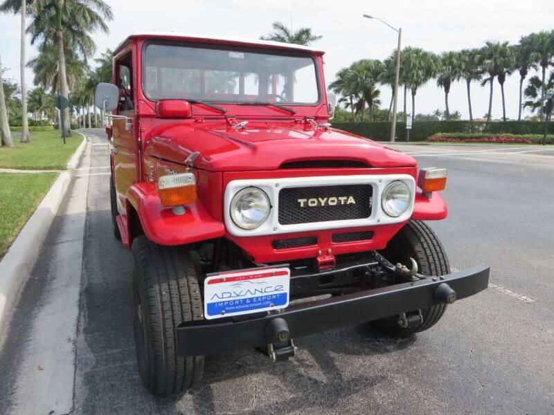 1980 Toyota Land Cruiser FJ45 FJ45 - Doral FL
