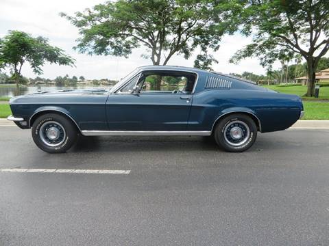 1968 Ford Mustang for sale at ADVANCE AUTOMALL in Doral FL